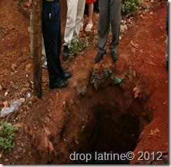 drop latrine